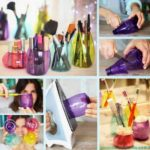 DIY - Απλά βαζάκια απο πλαστικά μπουκάλια