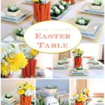 Διακοσμήστε το πασχαλινό τραπέζι με καρότα αυγά και γρασίδι!!