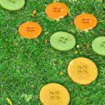 Φτιάξτε υπέροχα μονοπάτια απο τσιμεντένια κουμπιά στον κήπο σας!