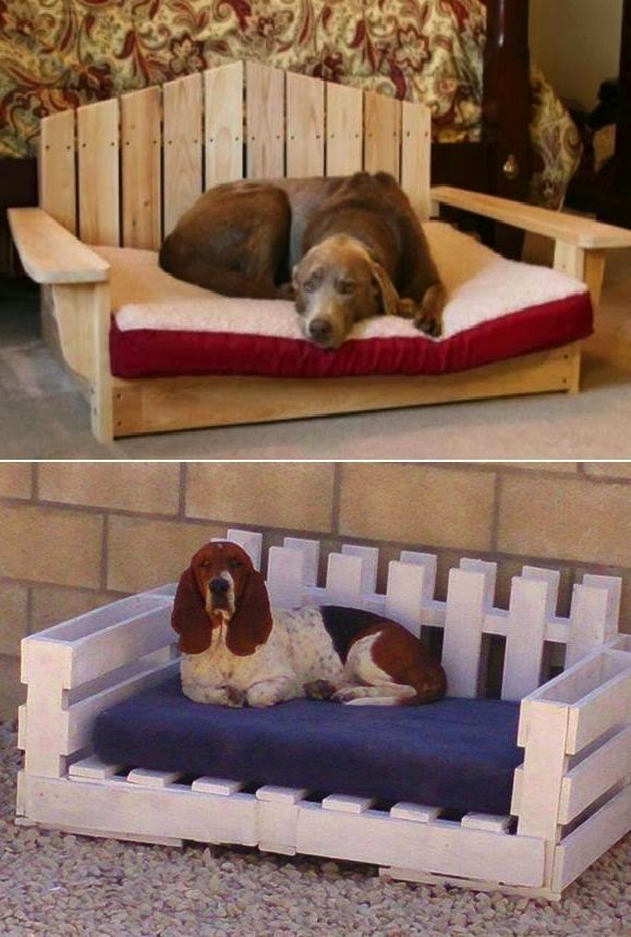 97c421038670 55 πανέμορφα κρεβατάκια σκύλων απο παλέτες! - Toftiaxa.gr