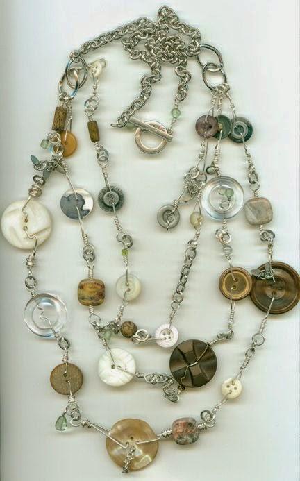40 εκπληκτικές ιδέες για να φτιάξετε κοσμήματα απο κουμπιά ... 0632afb484d