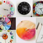 40 εκπληκτικά ρολόγια τοίχου που θα φτιάξετε μόνοι σας {Μέρος 2ο}