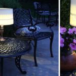 Πώς να φτιάξετε πανεύκολα ενα ηλιακό πορτατίφ για τον κήπο ή το μπαλκόνι σας!