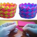 Πώς να φτιάξετε καλαθάκια απο χαρτί! - {ΒΙΝΤΕΟ}