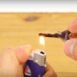 Πώς να φτιάξετε ένα αντικλείδι απο κουτάκι αναψυκτικού, αναπτήρα και ψαλίδι!