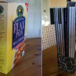 Πώς να φτιάξουμε θήκες οργάνωσης χαρτιών και περιοδικών απο κουτιά δημητριακών + 30 φοβερές ιδέες!