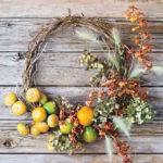 DIY Φθινοπωρινά Διακοσμητικά Στεφάνια