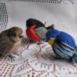 Πώς να φτιάξετε μοναδικά και ιδιαίτερα διακοσμητικά Πουλιά από Νήματα! 2 Σχέδια!