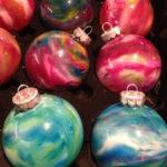 Χριστουγεννιάτικες Μπάλες με Κηρομπογιές!