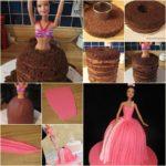 Πώς να φτιάξουμε μία τούρτα κούκλα!