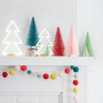 26 Ιδέες Διακόσμησης με Χριστουγεννιάτικα Φωτάκια
