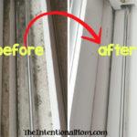 Πώς να καθαρίσετε τις Ράγες Παράθυρων σαν Επαγγελματίας