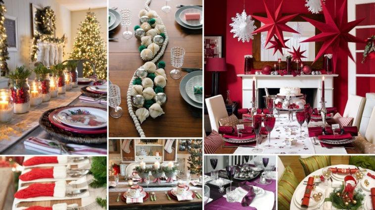 20 Εορταστικές Ιδέες για το Χριστουγεννιάτικο Τραπέζι