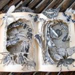 20 Απίστευτα Γλυπτά από Βιβλία