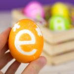 Πασχαλινά Αυγά με Μονόγραμμα