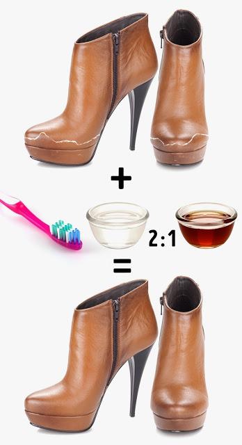 11 Εύκολα Κόλπα για να Φαίνονται τα Παπούτσια σαν Καινούργια