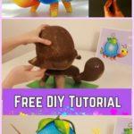 Πως να Φτιάξετε ένα Πορτατίφ Χελώνα Χρησιμοποιώντας ΜΟΝΟ Χαρτόνι και κόλλα! Οδηγίες - Βίντεο!