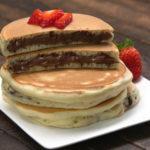 Φανταστικά pancakes (τηγανίτες) με Νουτέλα!