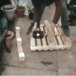 Πως θα αποξηλώσετε – αποσυναρμολογήσετε μία ξύλινη παλέτα – Βίντεο