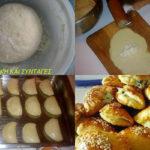 Ζύμη με γιαούρτι (τύπου «κουρού») ιδανική επιλογή για πεντανόστιμα τυροπιτάκια με μόλις τρία υλικά!