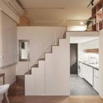 Μικροσκοπικό διαμέρισμα χρησιμοποιεί στο έπακρο τον διαθέσιμο χώρο