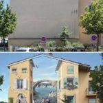 Δίνει ζωή στους γκρίζους τοίχους!