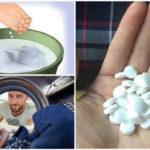 Τι θα γίνει αν βάλετε ασπιρίνη στο πλυντήριο ρούχων