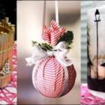 15 απλές και εύκολες DIY κατασκευές για τα Χριστούγεννα και τον Χειμώνα - Βίντεο.
