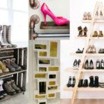 23 λαμπρές ιδέες για την αποθήκευση παπουτσιών