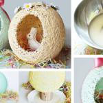 DIY: Πασχαλινά Αβγά Καλάθια από Ζάχαρη!
