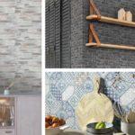 Δημιουργήστε στυλ φυσικού υλικού στο χώρο σας με ταπετσαρίες τοίχου: από ξύλο και πέτρα, έως πλακάκι...