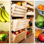 34 μοναδικές ιδέες αποθήκευσης φρούτων και λαχανικών