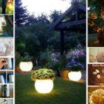 25 Ιδέες για να φωτίσετε τους κήπους, τις αυλές και τα μπαλκόνια σας