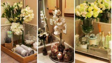 ιδέες για διακοσμητικό δίσκο στο μπάνιο