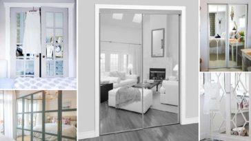 Ιδέες για ντουλάπες με καθρέφτη