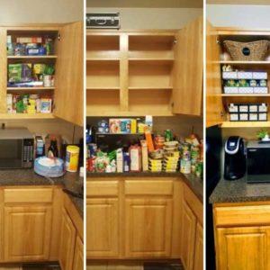Τακτοποιήστε τα ντουλάπια της κουζίνας σας με αυτόν τον τρόπο