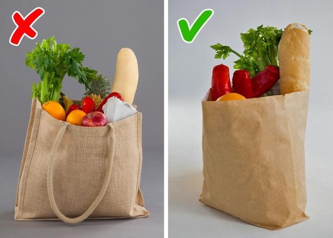 Χρησιμοποιείτε μια τσάντα για τα τρόφιμα περισσότερες από μία φορές