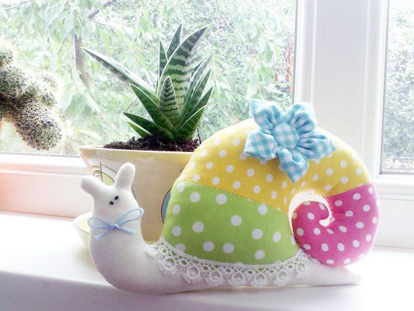 DIY μαξιλάρι σαλιγκάρι