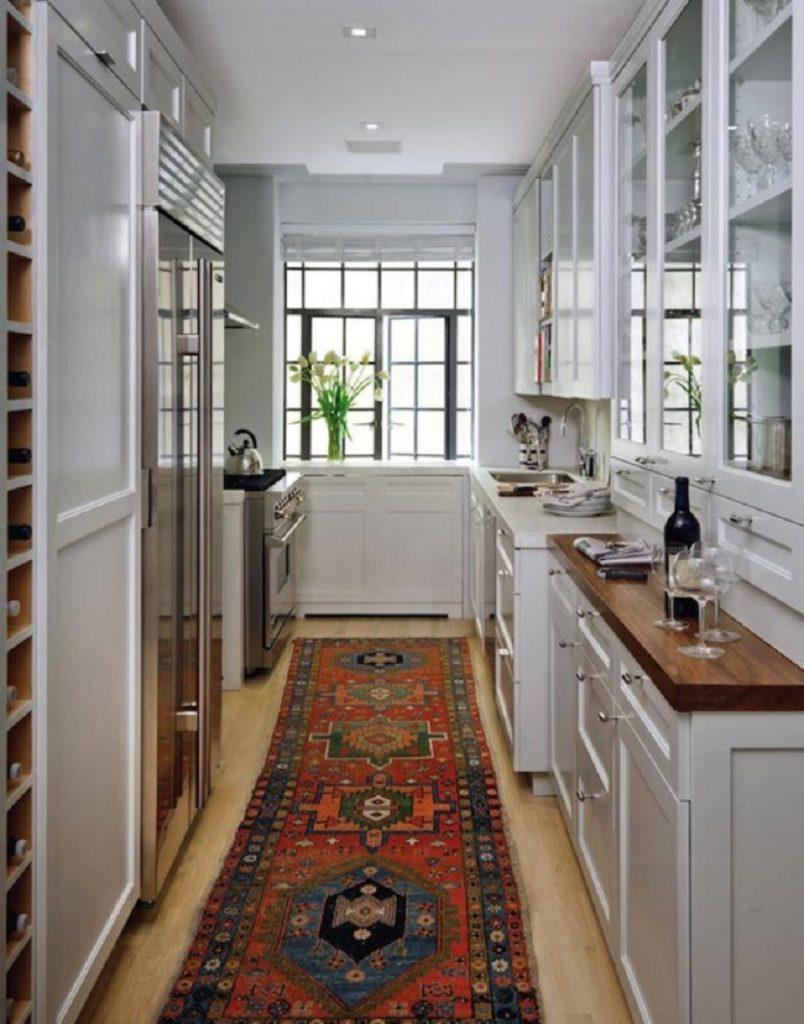 Ιδέες για στενόμακρες κουζίνες