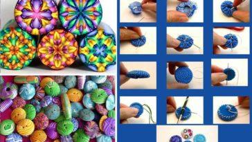 5 τρόποι για να φτιάξετε μοναδικά χειροποίητα κουμπιά