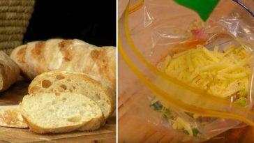 συνταγή με μπαγιάτικο ψωμί