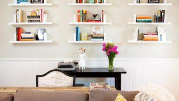 Οι 13 πιο εύκολες και δημιουργικές ιδέες για αυτοσχέδια DIY ξύλινα ράφια για το καθιστικό