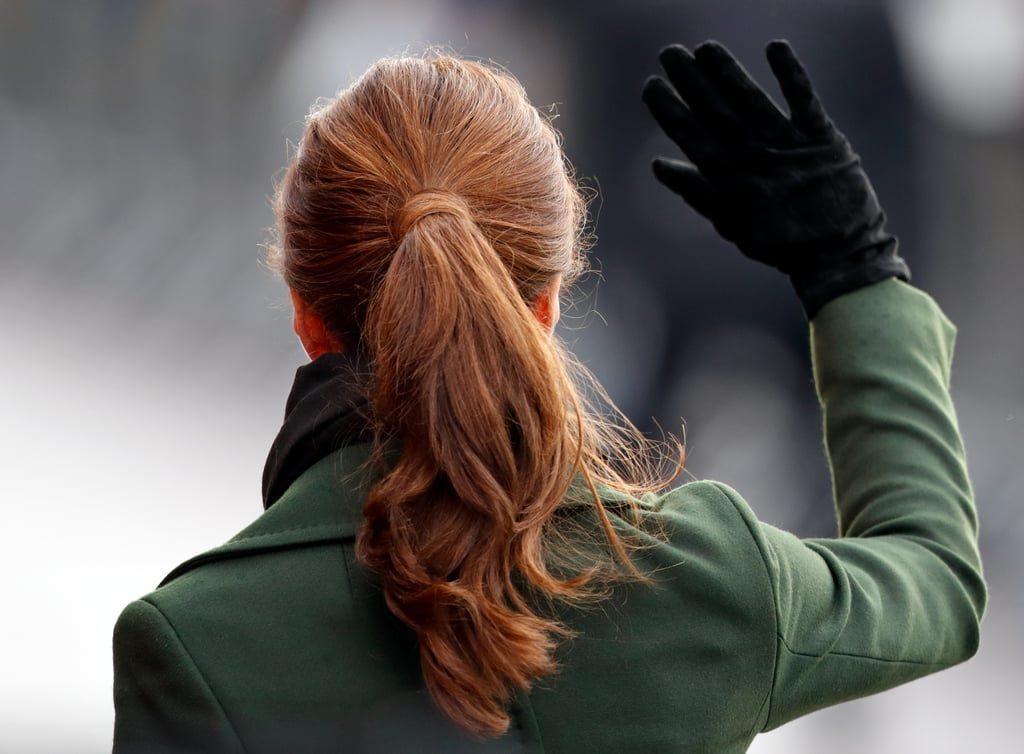 υπέροχη κοτσίδα ponytail