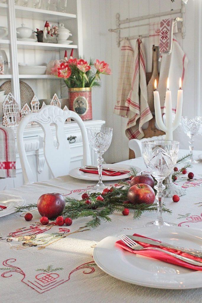 ΣΚΑΝΔΙΝΑΒΙΚΗ Χριστουγεννιάτικη διακόσμηση! 40 μοναδικές ιδέες 32