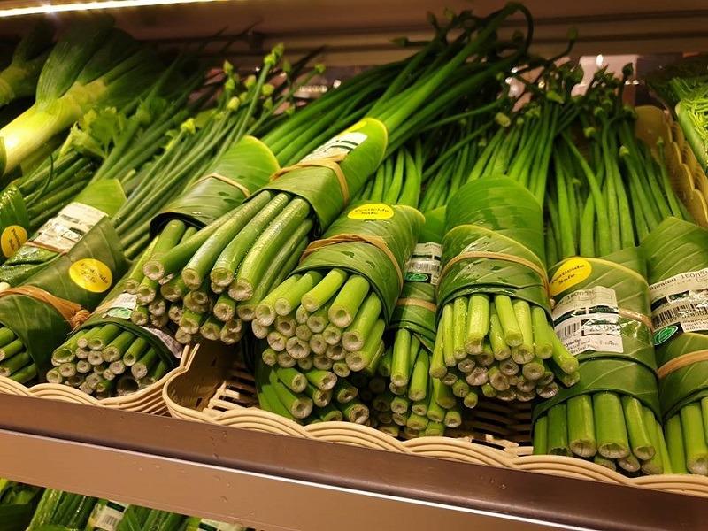 οικολογική συσκευασία από φύλλα μπανάνας