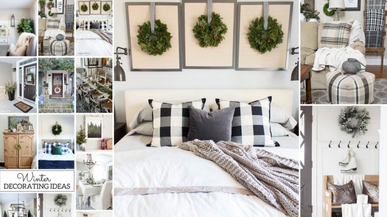 Όμορφες Ιδέες Χειμωνιάτικης διακόσμησης σπιτιού