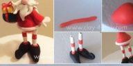 Φτιάξτε φιγούρες Άγιος Βασίλης με πηλό. Οδηγίες βήμα βήμα