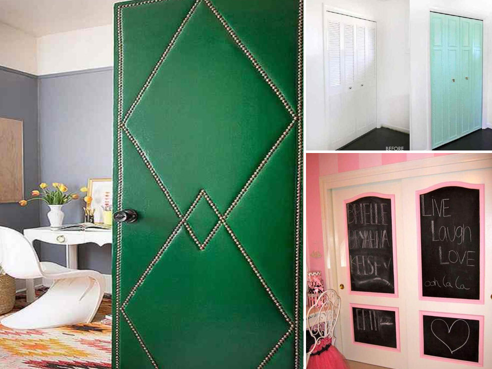 ΝΤΟΥΛΑΠΑ: 10 Τρόποι για να Διακοσμήσετε Πόρτες Ντουλάπας Υπνοδωματίου