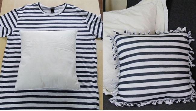 DIY ΚΑΤΑΣΚΕΥΕΣ: 7 τρόποι να χρησιμοποιήσετε παλιά μπλουζάκια!