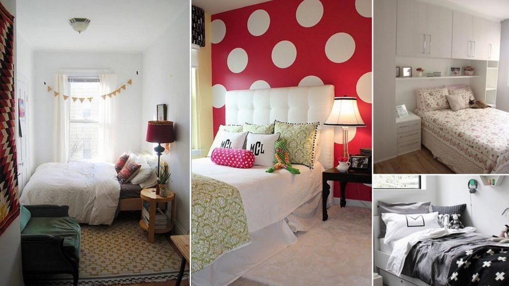 ΜΙΚΡΟΣΚΟΠΙΚΑ ΔΩΜΑΤΙΑ: Πώς να Κάνετε Ένα Μικρό Υπνοδωμάτιο να Φαίνεται Μεγαλύτερο